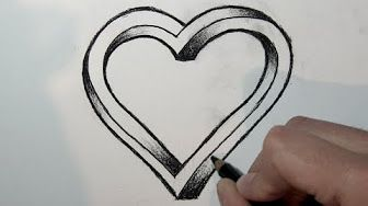 Dessiner Youtube Heart Drawing Online Drawing Disney Drawings