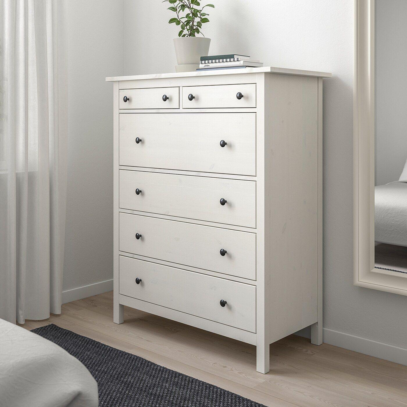 Ikea Hemnes Kommode Weiß 2021