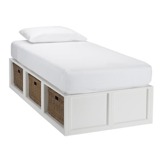 Stratton Storage Platform Daybed with Baskets in 2018 | Home | Bed ...