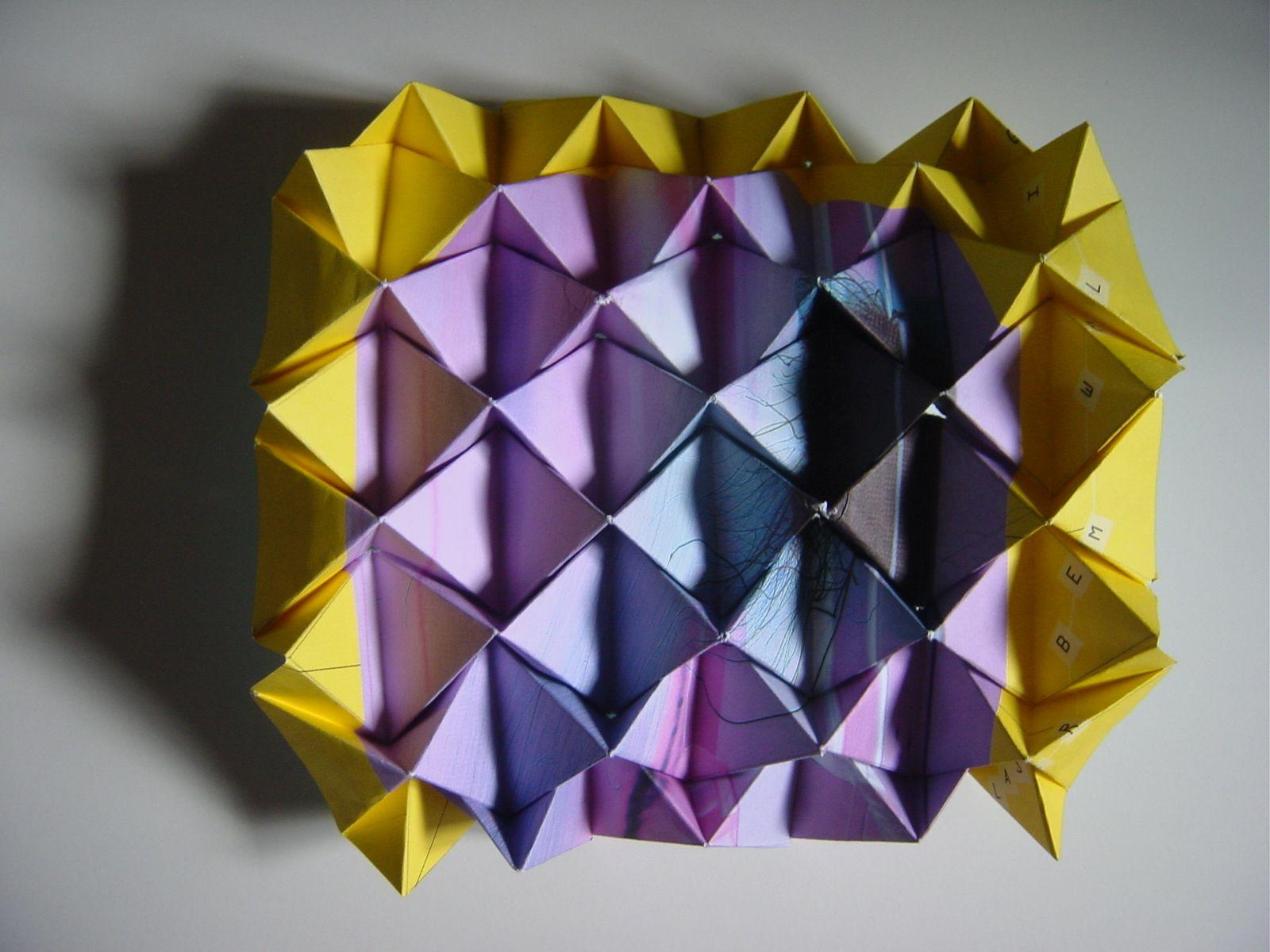 Faltobjekt | Paper Art | Pinterest