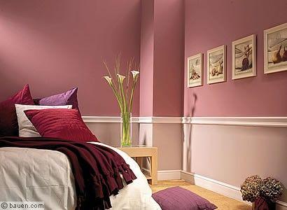 das gewisse etwas wandgestaltung wandfarbe schlafzimmer und schlafzimmer ideen. Black Bedroom Furniture Sets. Home Design Ideas