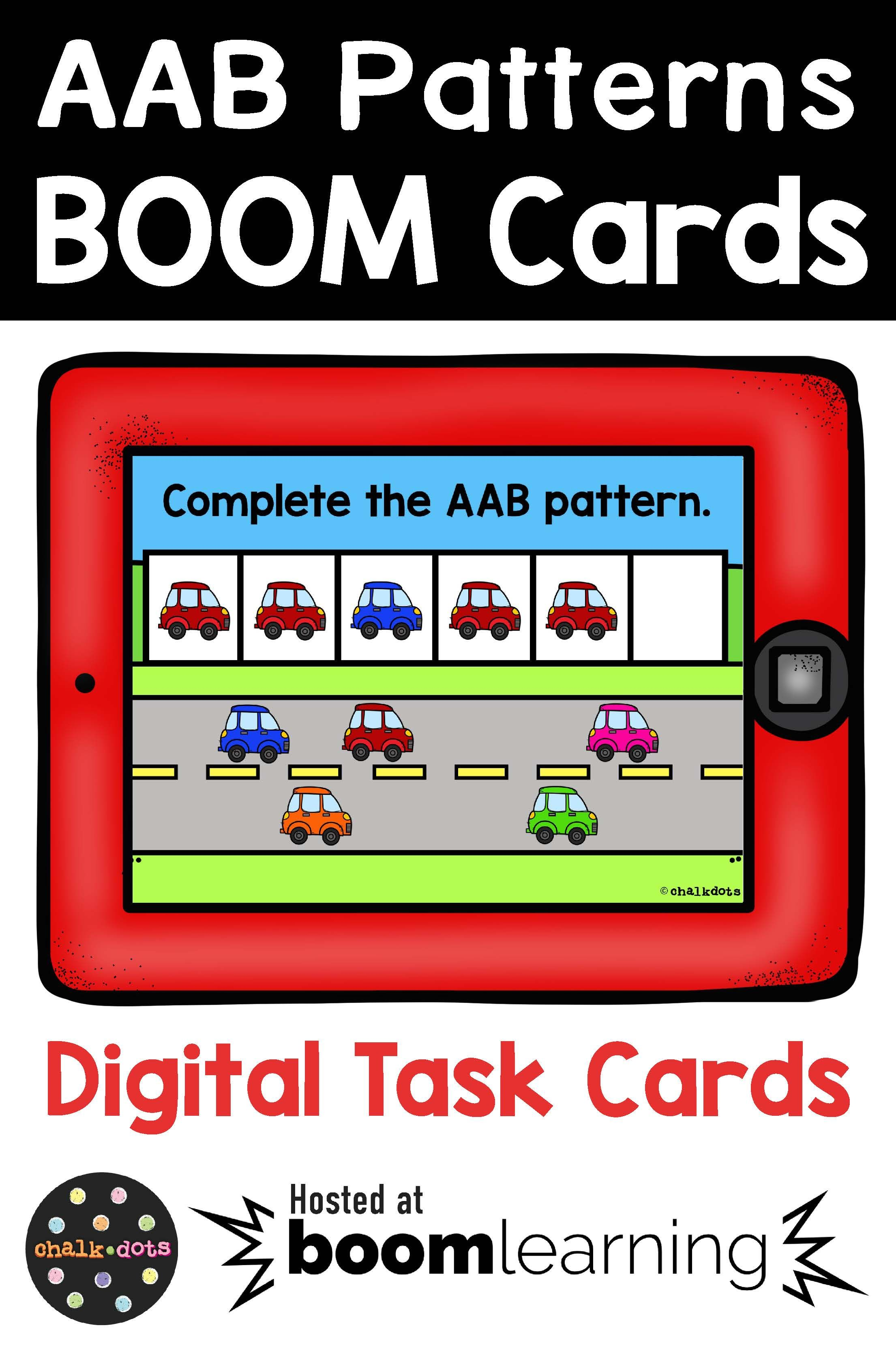Aab And Abb Pattern Boom Cards In