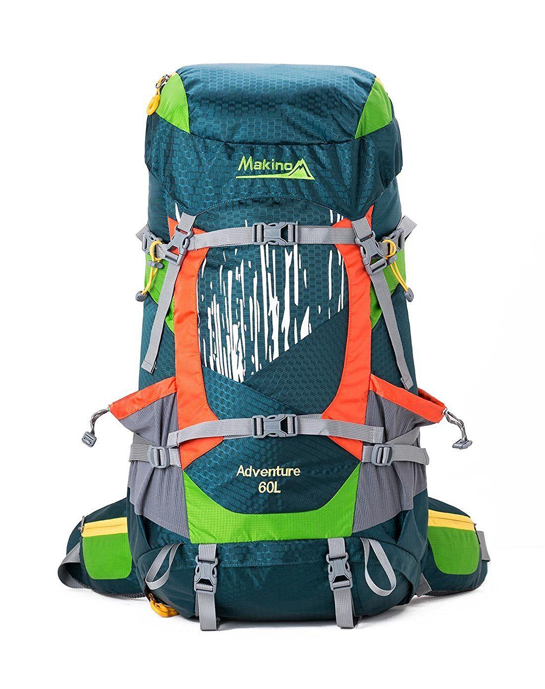 Makino Outdoor Hiking Waterproof Internal Frame Backpack 60L with ...