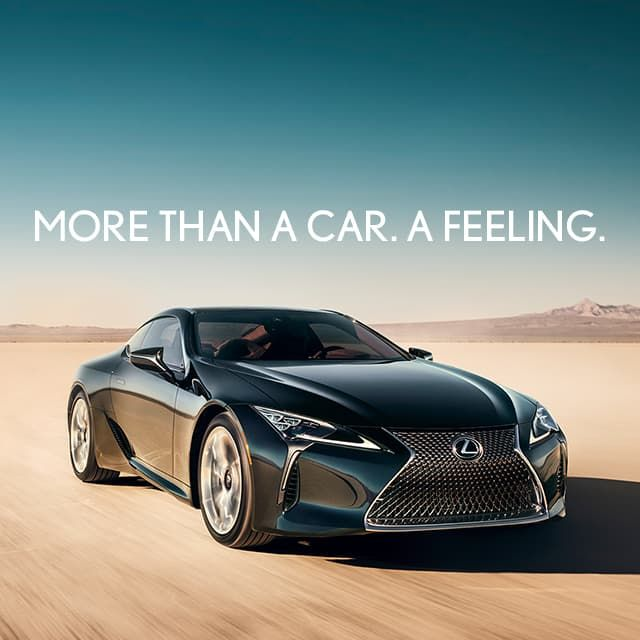 Lexus Supercar: Exterior Shot Of The 2020 Lexus LC Shown In Obsidian