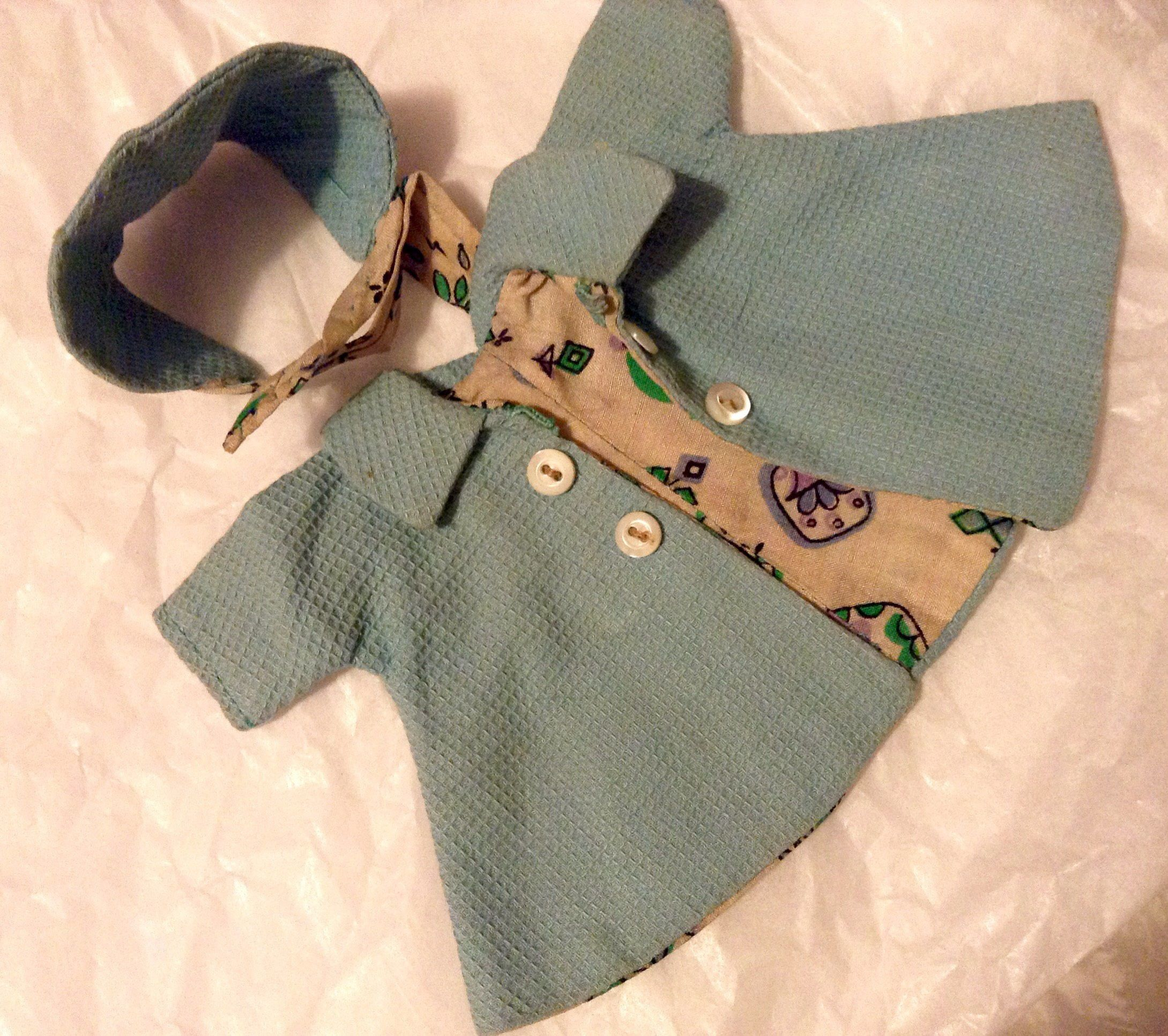 A personal favorite from my Etsy shop https://www.etsy.com/listing/534235449/old-little-doll-coat-handmade