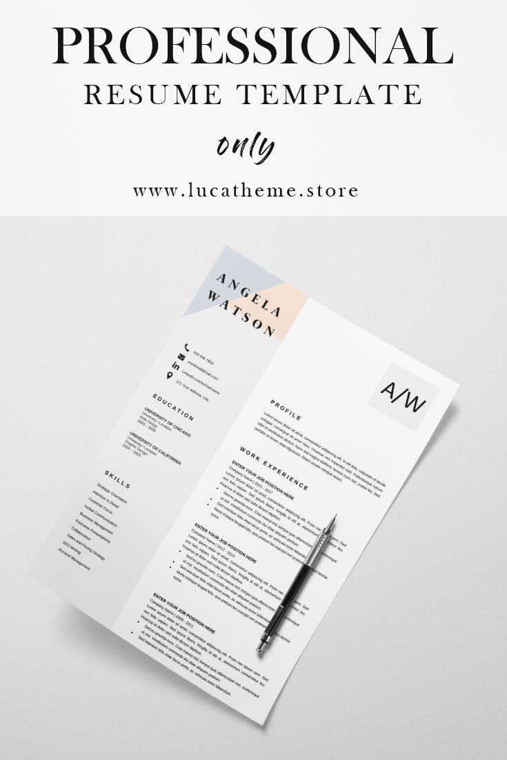 Resume Template Download Basic Resume Template Angela