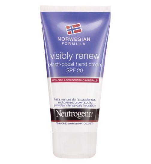 Neutrogena Norwegian Formula Visibly Renew Elasti Boost Hand Cream