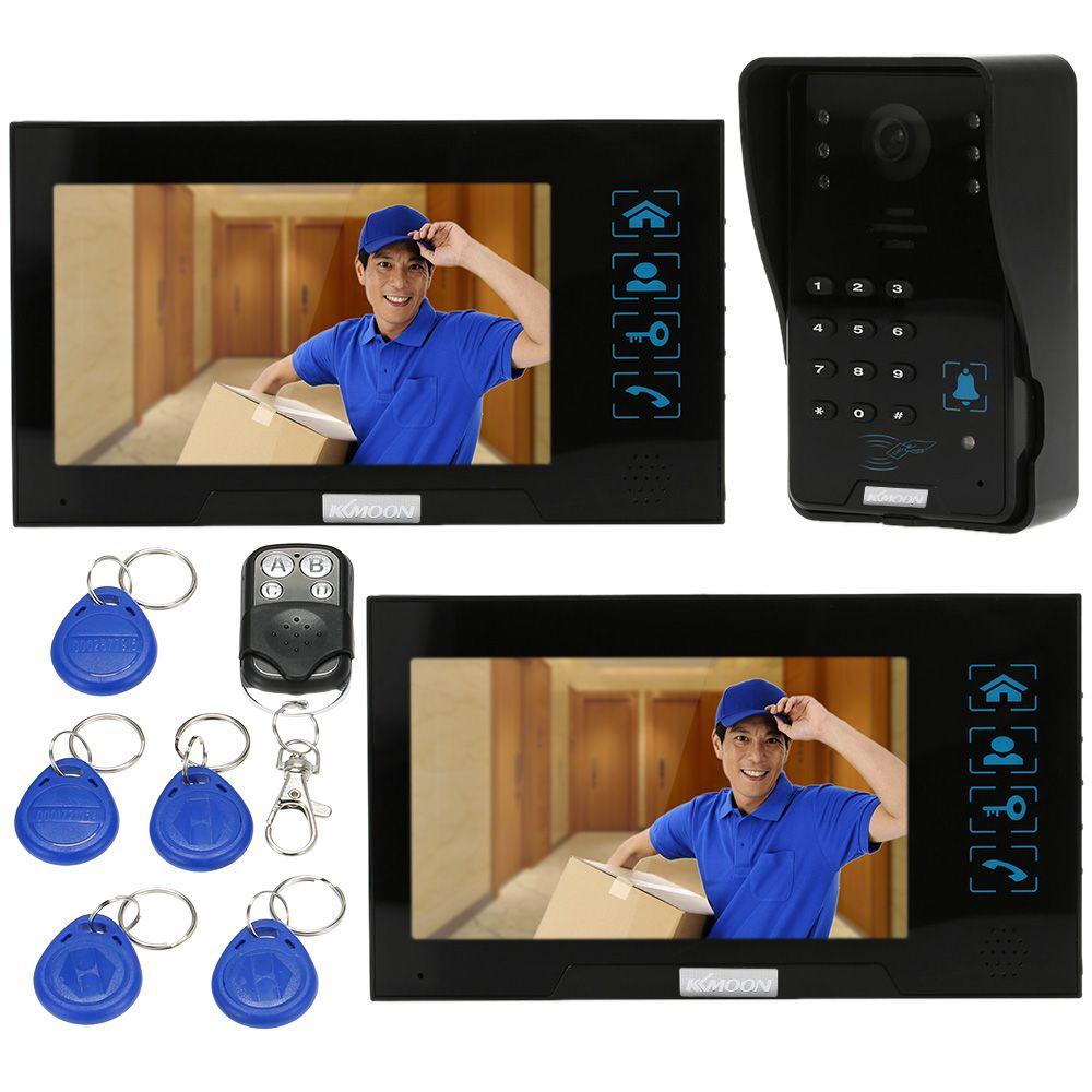 KKmoon Domofonowych I Wideodomofonowych Video Telefon