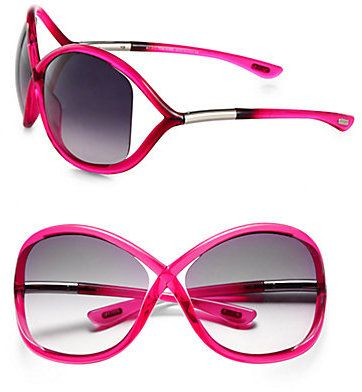 6f4aa06521  ad - Tom Ford Whitney 64mm Oversized Round Crossover Sunglasses on  shopstyle.com