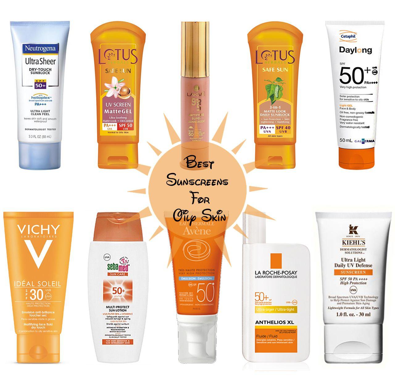 sun cream for oily skin