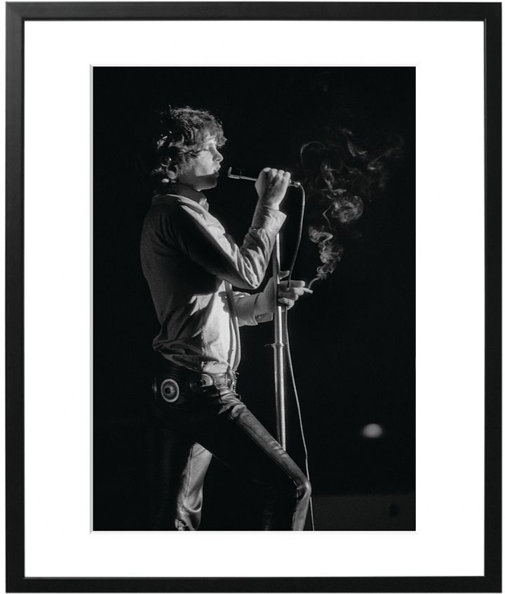 Sonic Editions Jim Morrison Live at the Kongresshalle (Framed ...