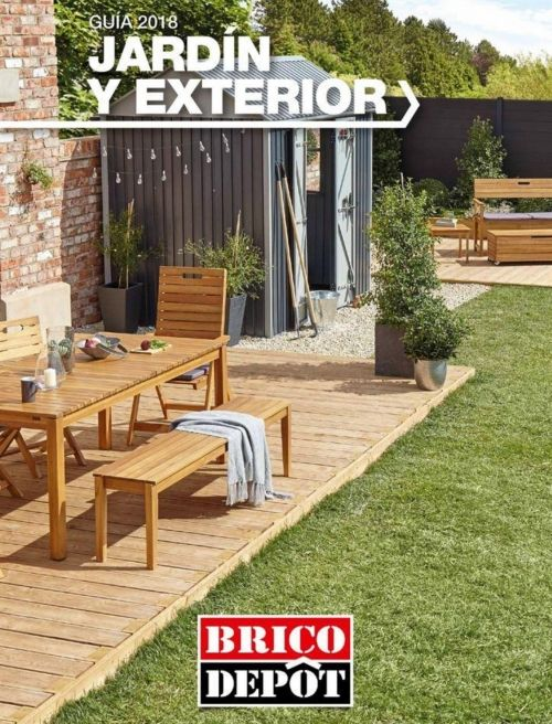Muebles jard n brico depot precios ofertas 2018 for Casetas de madera brico depot