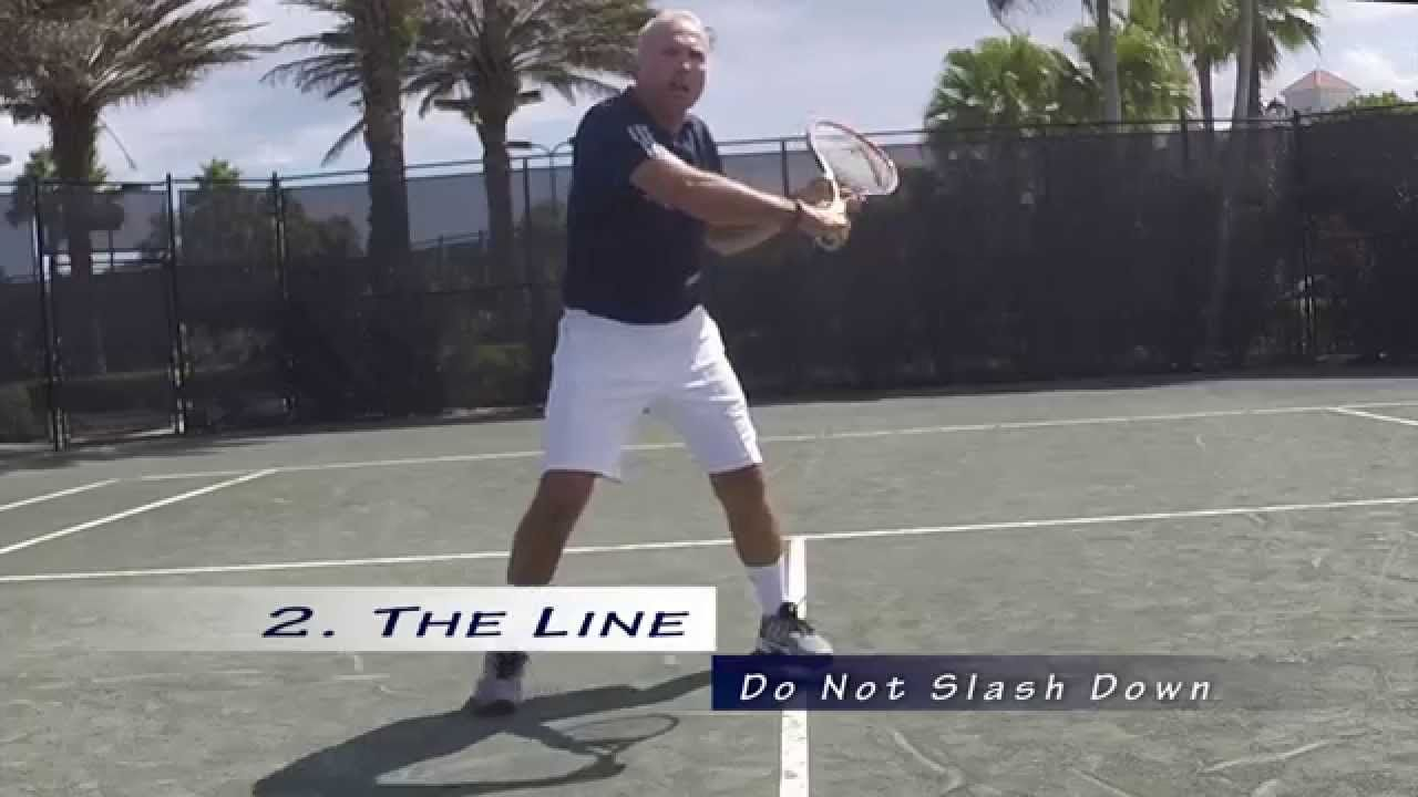 USTA Florida Go Pro Tip The Volley with Harry Gilbert
