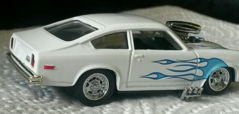 Custom Built 1 64 Chevy Vega Die Cast Custom Hot Wheels Diecast