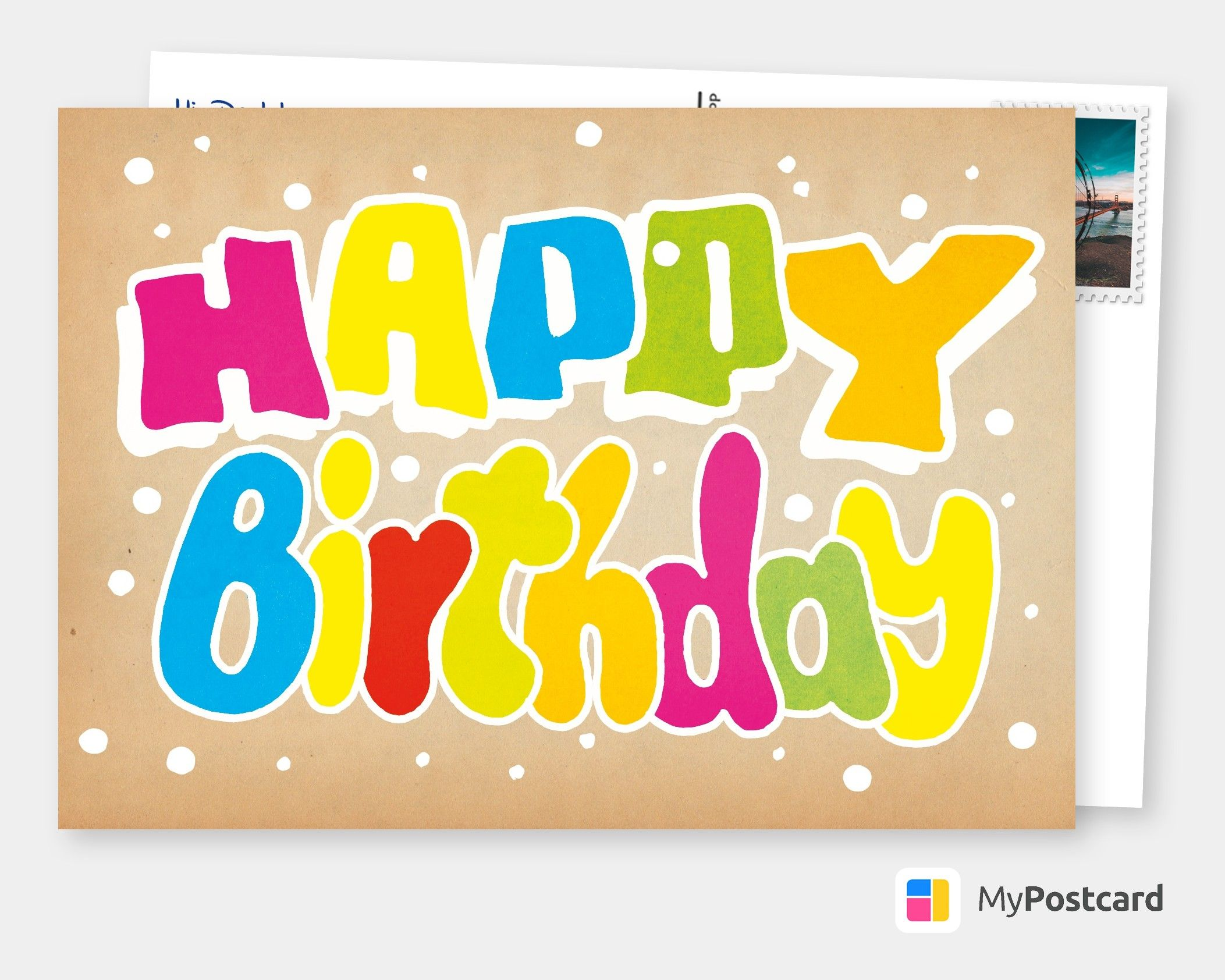 Make Your Own Birthday Cards Online Free Printable Templates Printed Mailed For You Photo Cards Postcards Photo Greeting Cards Online Printed Free Birthday Card