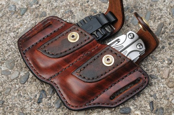 This sheath is designed to carry your Leatherman Wave or