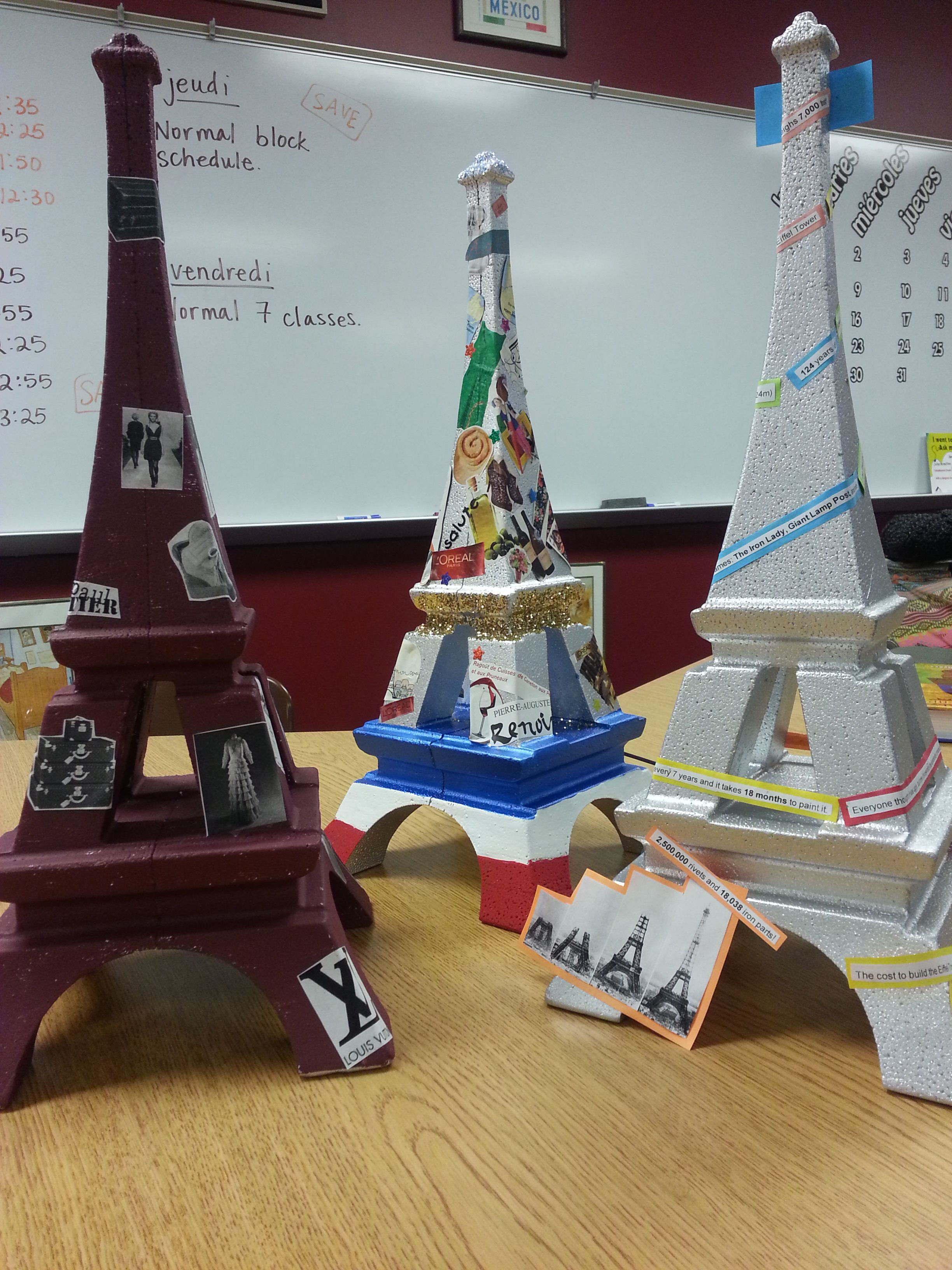 The Eiffel Tower In The French Classroom Unlimited