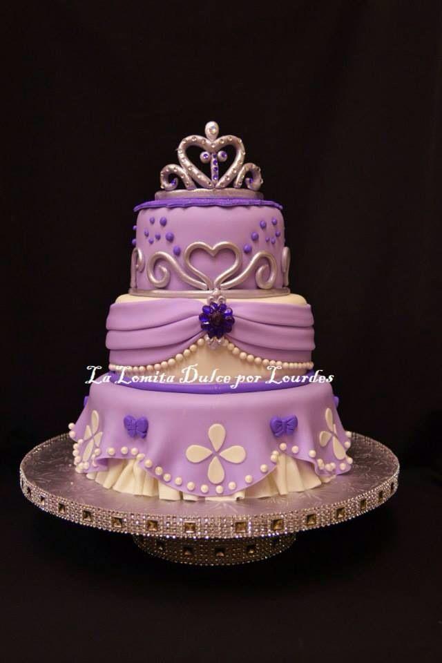 Sofia The First Cake Favorite Pinterest Cake Birthdays And