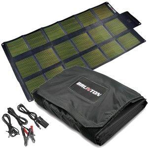 Best Portable Solar Generator Brunton Solaris 62 62 Watts 3 1 Amp Amazing Its Production Ability Is Unmatched By Portable Systems Portable Solar Generator