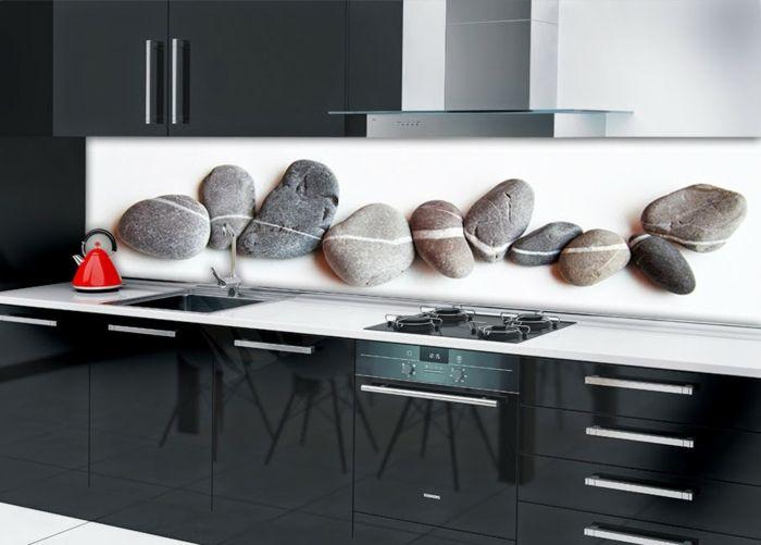 35 Küchenrückwände aus Glas - opulenter Spritzschutz für die Küche - fliesenspiegel glas küche