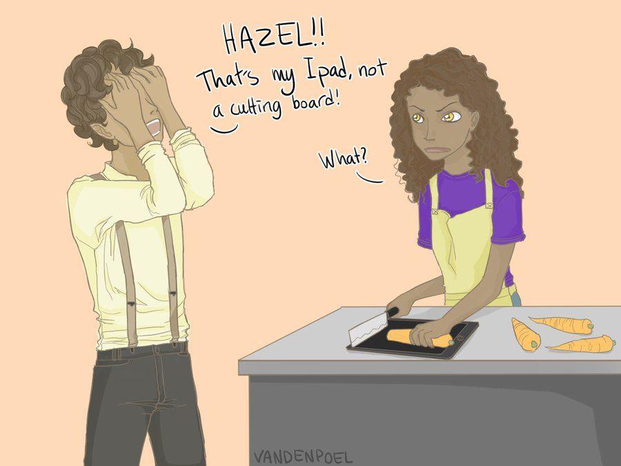 Hazel accidentally destroys technical things by Vandenpoel on DeviantArt