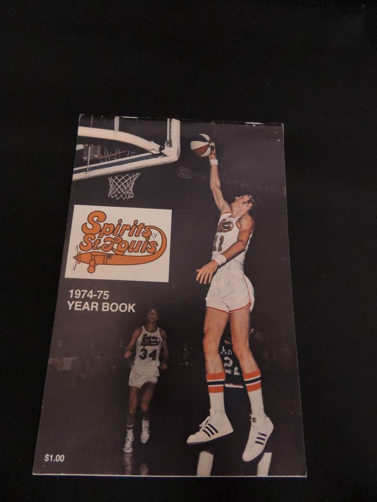 1974 1975 ABA AMERICAN BASKETBALL ASSOC. SPIRITS of ST