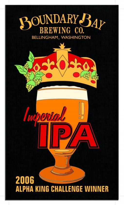 hop lovers everywhere love the Boundary Bay Brewery Imperial IPA