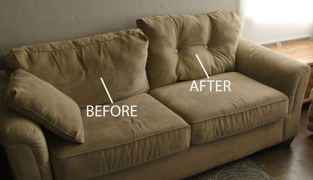 They Were Going To Throw Away Their Saggy Couch Until They Found This 1 Trick Fix Sagging Couch Cushions On Sofa Couch Makeover