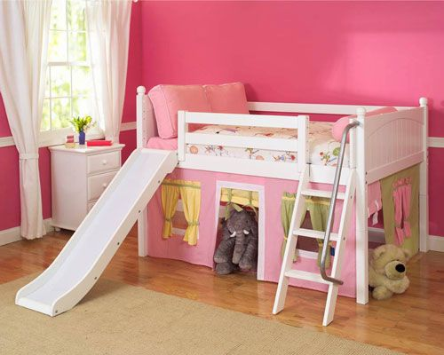 It S All A Little Over Pink But What Kid Wouldn T Love A Bed Like