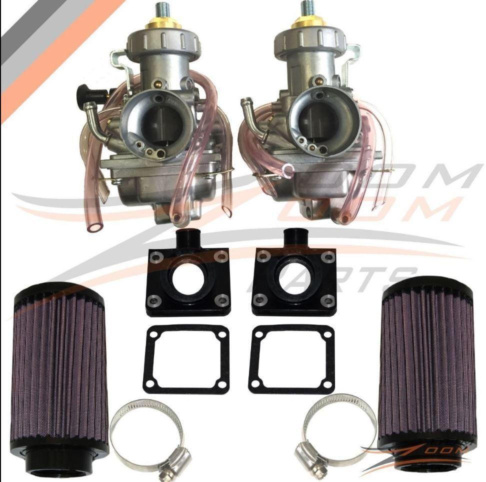 Yamaha banshee 350 carburetor air filter cleaner intake 87