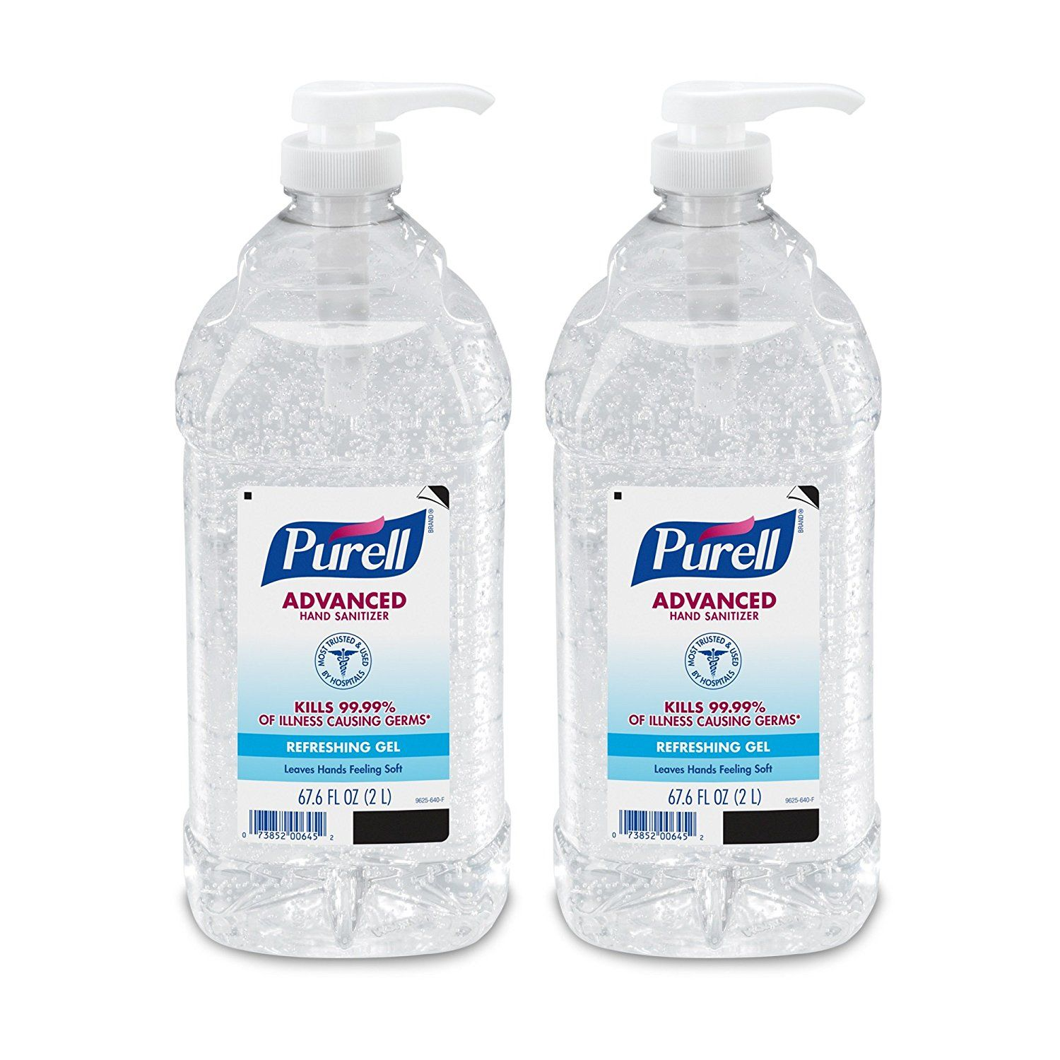 Amazon Com Purell Advanced Instant Hand Sanitizer 2l Pump