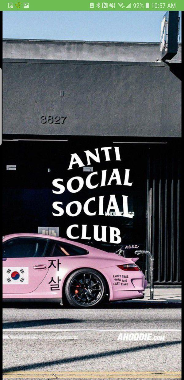 Anti Social Social Club Gran Turismo T-Shirt Medium for Sale in San Antonio, TX - OfferUp