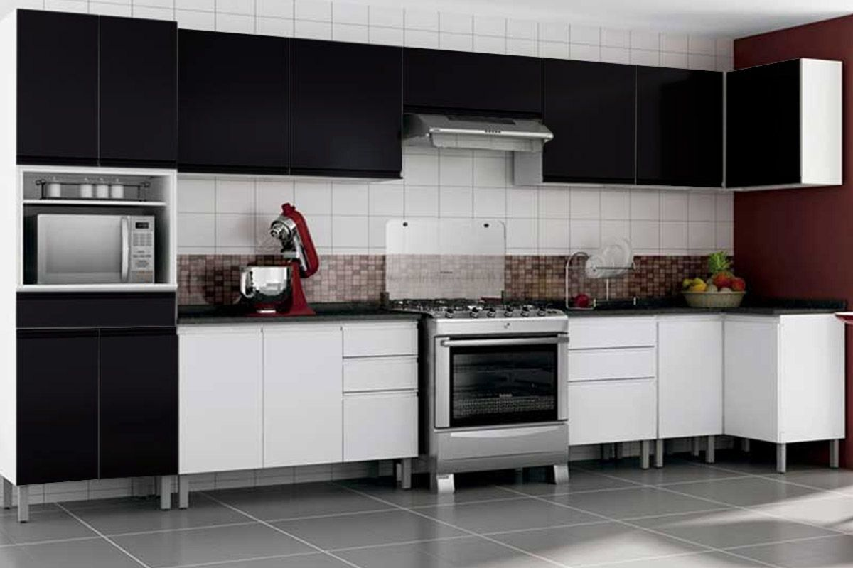 Cozinha Completa Itatiaia Stilo Plus De A O Kit 8 Pe As Cz27 Casa