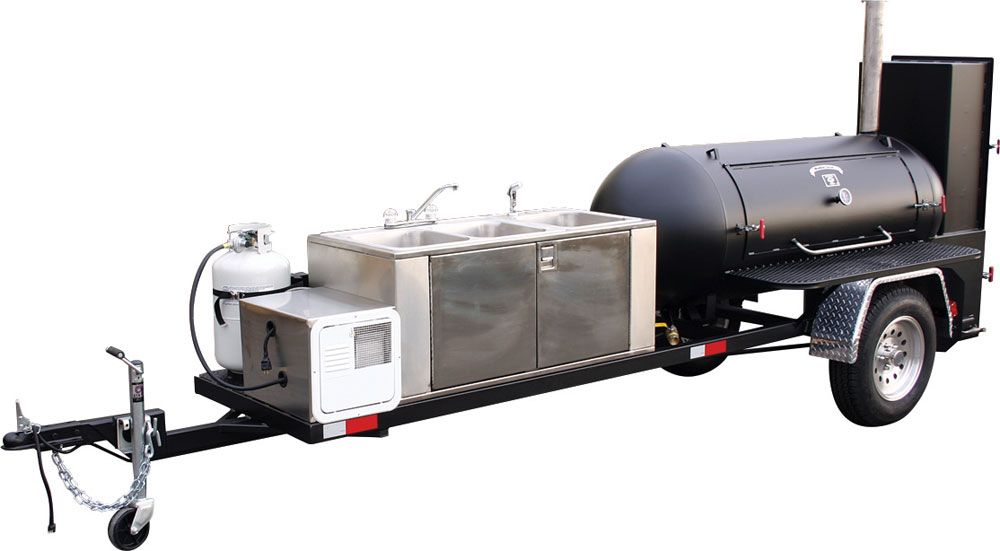 Bbq smoker trailers ts250 barbeque smoker jason