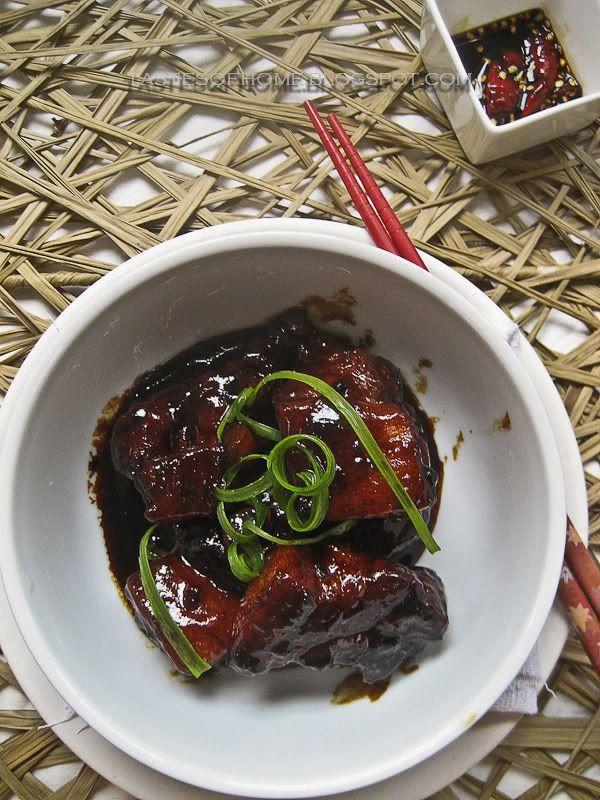 Braised Pork in Sweet Soy Sauce Recipe