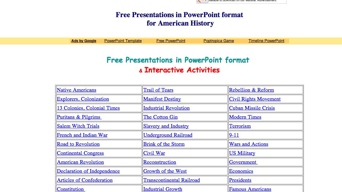 Us History Powerpoints Teaching History History Teachers