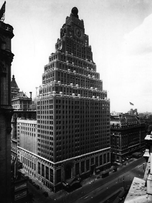 Rapp and Rapp, The Paramount Building, New York, New York, 1926