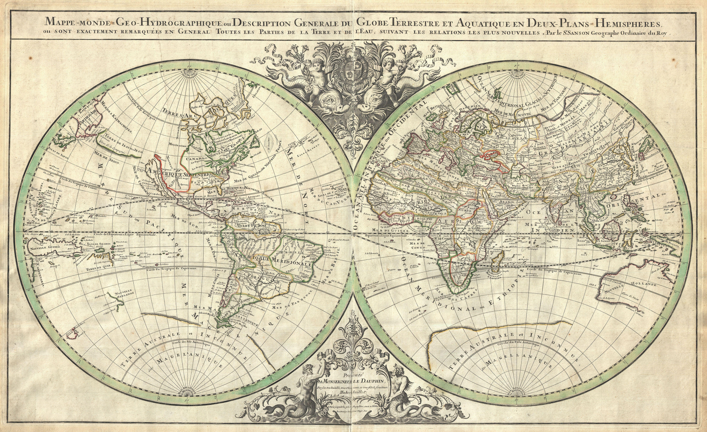 Soporte de libro del mapa de mundo de Globo del