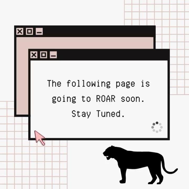 The following page is going to ROAR soon. Stay tuned 💯  . . . .   #socialmediamarketing #socialmedia #roar #staytuned #digitalart #canva #digitalmarketer