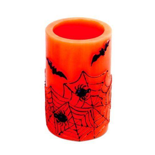 Halloween Decoration - Led Halloween Candle - Spider - Bat - Cobweb