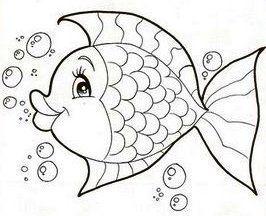 Bulle Fisch Steinebemalenvorlagen In 2020 Fische Zeichnen Fische Ausmalbilder