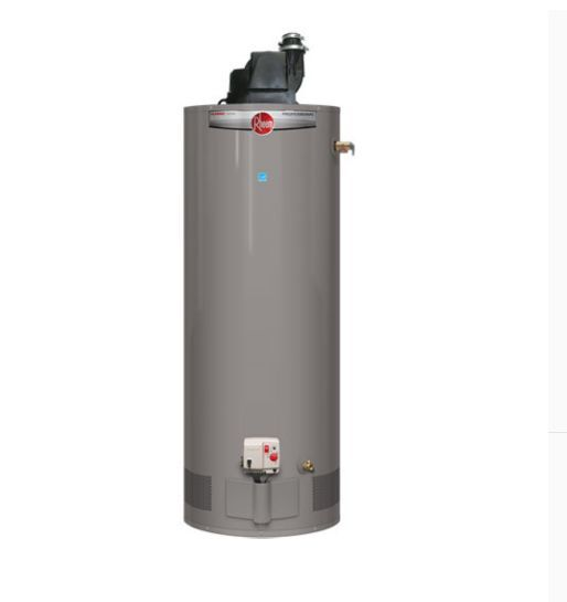 Rheem Professional Classic Plus Tall 75 Gallon Heavy Duty Power Vent Natural Gas Water Heater Gas Water Heater Water Heater Natural Gas Water Heater
