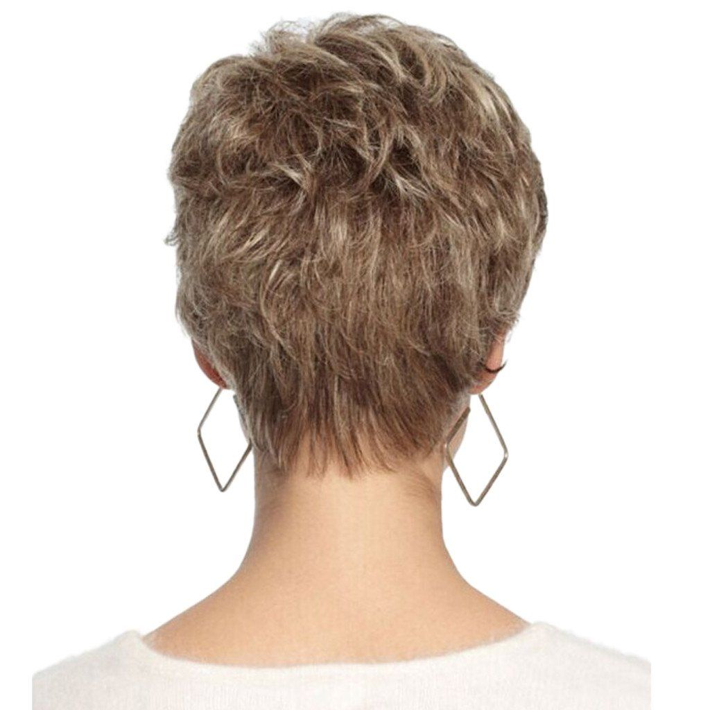 〖Follure〗Fashion Women's Sexy Full Bangs Wig Short