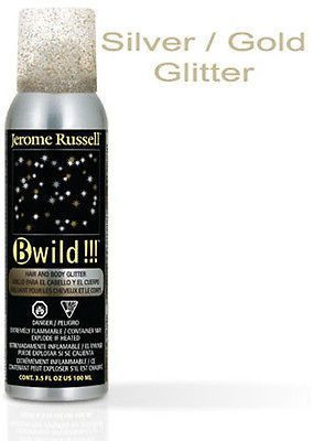 Jerome Russell B wild temporary spray in hair color 3.5 oz. ( silver / gold )