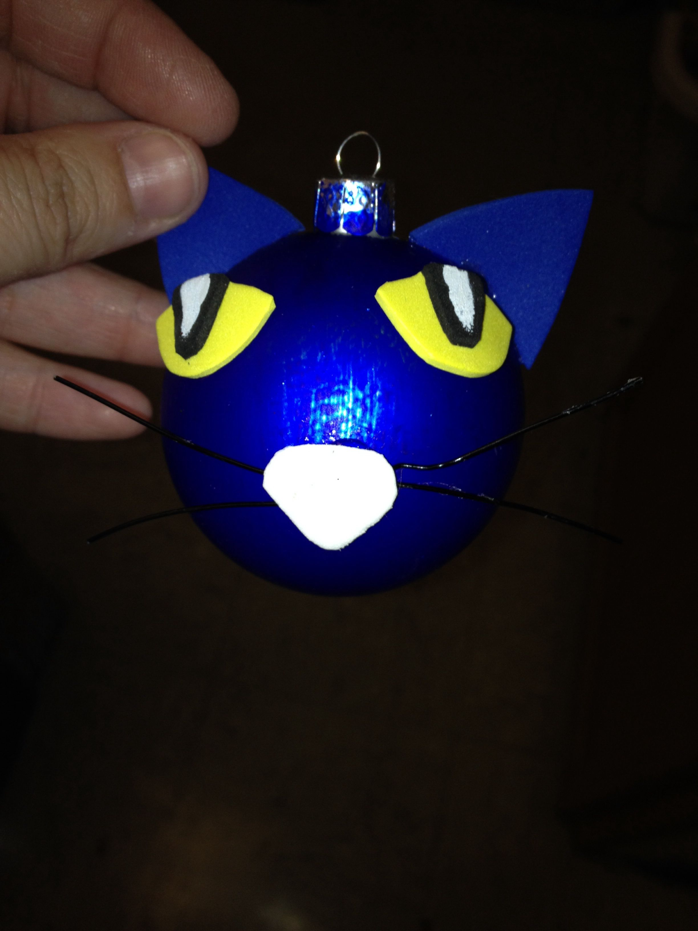 Pete The Cat Ornaments