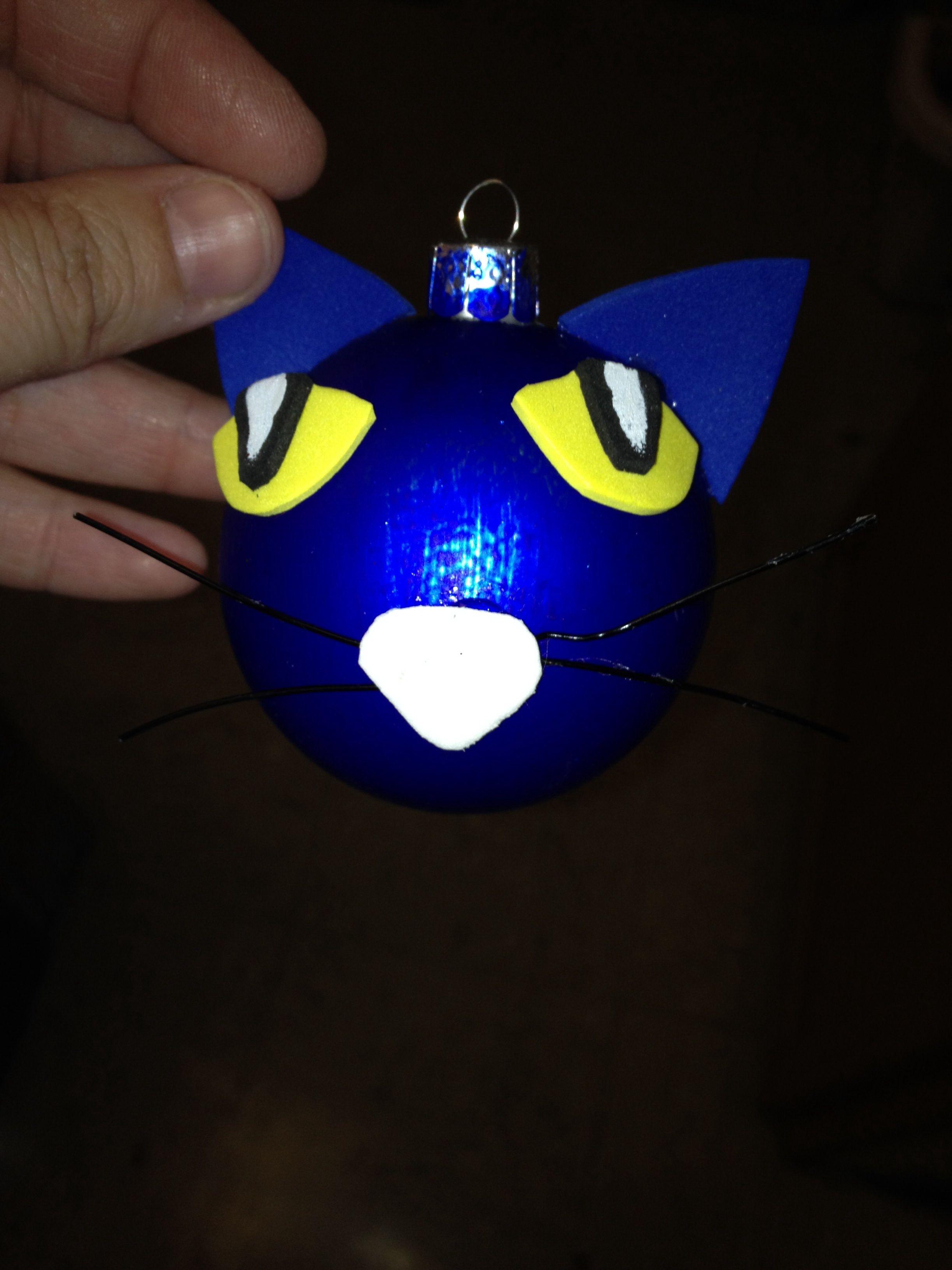 Pete The Cat Ornaments
