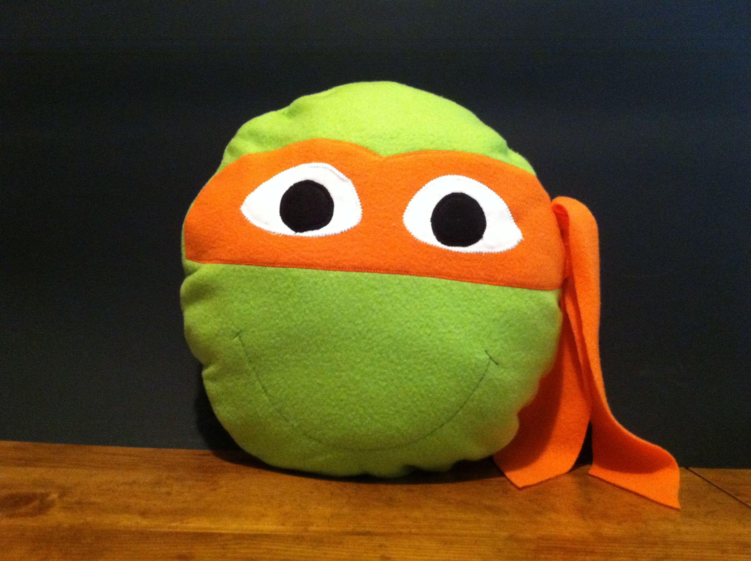 Ninja Turtle Decorative Pillow : Ninja Turtle Pillow Sewing Pinterest Ninja turtles, Turtle and Pillows