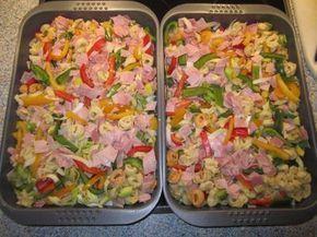 Bunter Tortellini-Auflauf - Rezept mit Bild