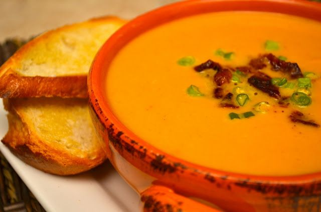 Creamed Spicy Pumpkin Soup ......