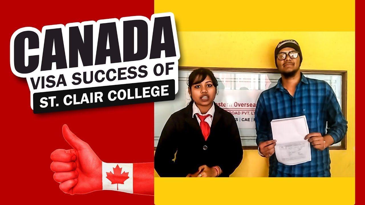 Canada Visa Success Of St Clair College Clair Visa College